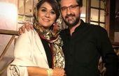 عکس امیرحسین مدرس و همسرش