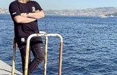 بهرنگ علوی در کنار دریا + عکس