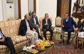 دیدار مشاوران امنیت ملی افغانستان در ادوار مختلف با شمخانی