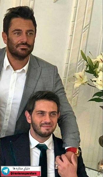 تیپ گلزار در عقد برادرش+عکس