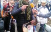 بازیگر خط قرمز در راهپیمایی 22 بهمن