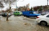 اخطار هواشناسی درباره آبگرفتگی معابر عمومی