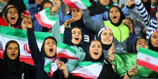 واکنشها به حضور مجوز دار زنان در ورزشگاه و سخنان دادستان کل کشور +عکس