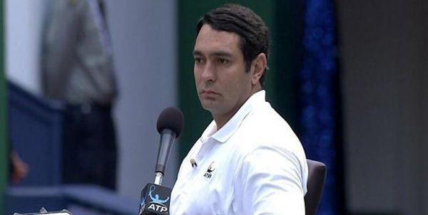 داور ایرانی فینال تنیس لندن را قضاوت کرد