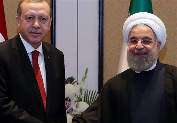 دعوت اردوغان از روحانی برای شرکت در نشستی سهجانبه با روسیه
