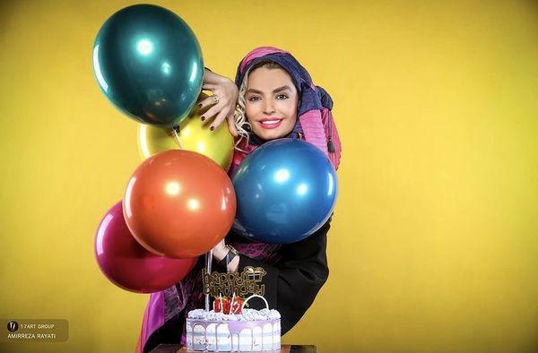 جشن تولد رنگی سپیده خداوردی + عکس