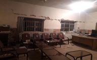 خسارات اولیه زلزله سی سخت+ تصاویر