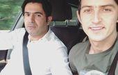 ماشین گردی سردار آزمون و برادرش+عکس