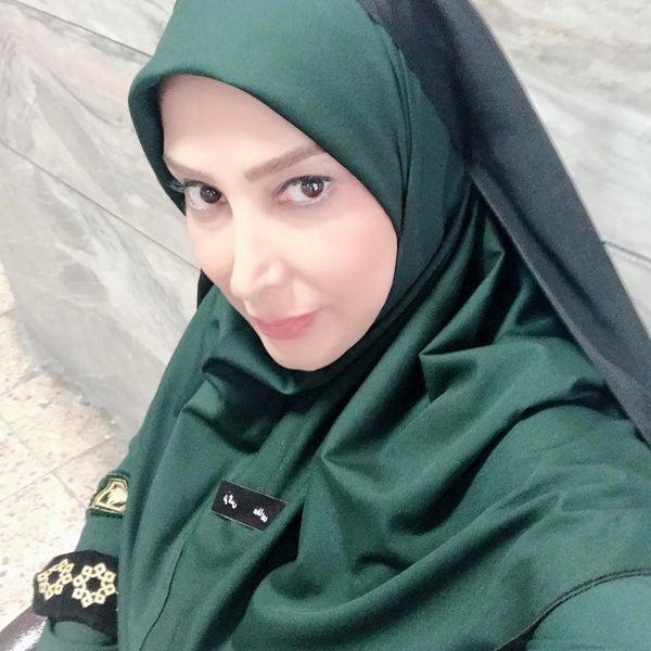 خانم بازیگر مددکار پلیس شد+عکس