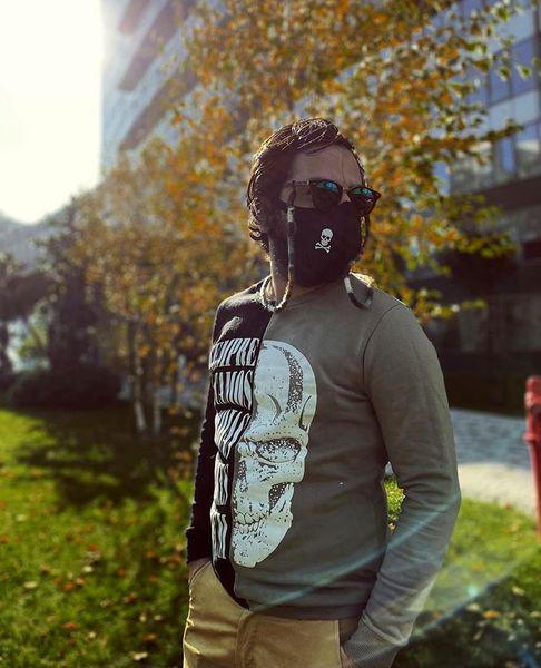 استایل عباس غزالی در خارج از کشور + عکس
