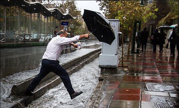 بارش باران در نیمه جنوبی کشور