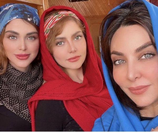 فقیهه سلطانی و خواهران جوانش + عکس