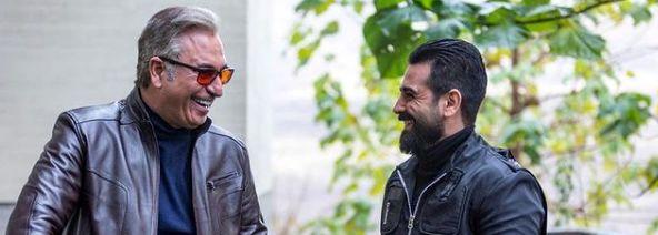خنده های از ته دل امیرحسین آرمان در کنار حمید فرخ نژاد + عکس