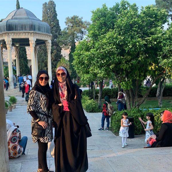 سفر مجری معروف به شهر رویایی+عکس