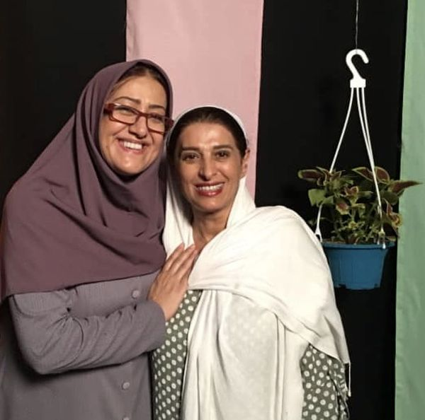 فاطمه هاشمی در کنار همسر بازیگر مشهور + عکس