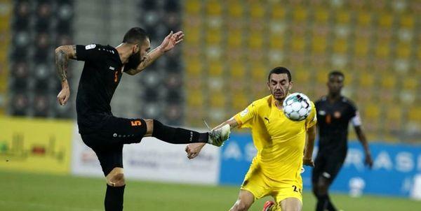 چشمی در ترکیب ام صلال در لیگ ستارگان قطر
