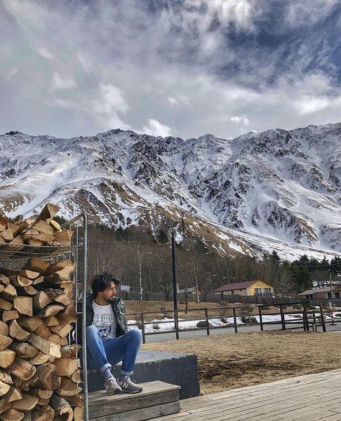 کوهنوردی مهرداد صدیقیان / عکس