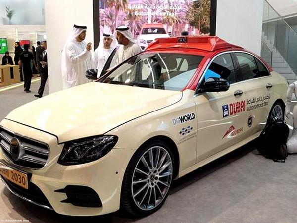 اولین سرویس تاکسی خودران در دوبی رونمایی شد
