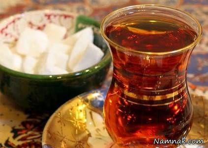 یک فنجان چای تازه دم
