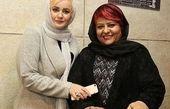 رابعه اسکویی در کنار نعیمه نظام دوست