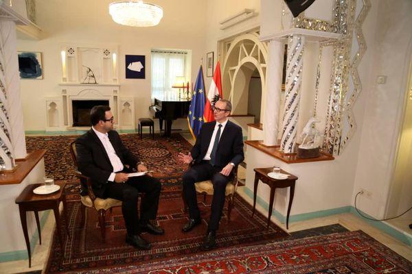 سفیر اتریش میهمان  شبکه پنج میشود