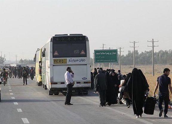 افزایش دو برابری قیمت بلیت اتوبوس در ایام اربعین