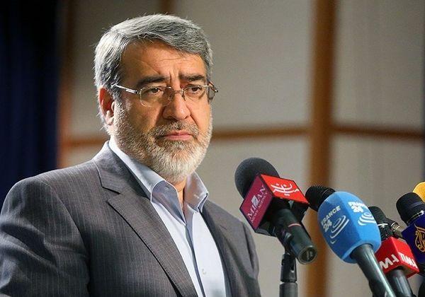 دستور عبدالرضا رحمانیفضلی به استاندار کردستان برای بررسی سانحه سنندج
