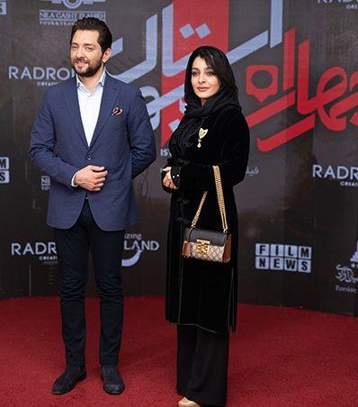 ساره بیات و بهرام رادان در اکران خصوصی «چهار راه استانبول»