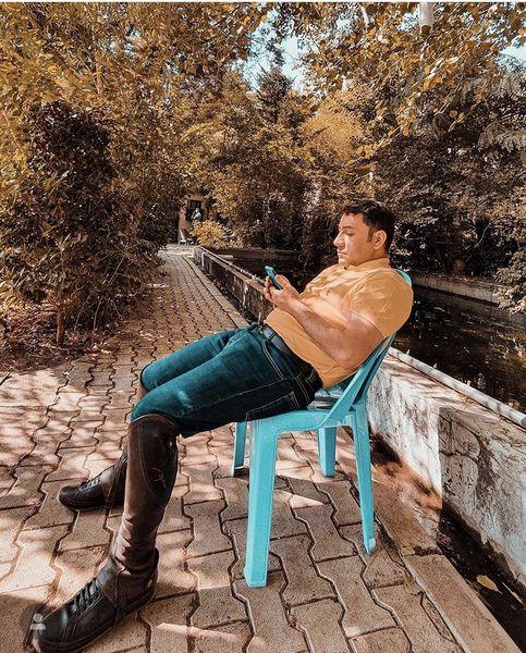 استایل پاییزی سروش جمشیدی + عکس