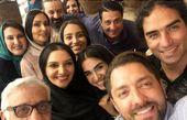 عکس دسته جمعی بازیگران معروف در کیش