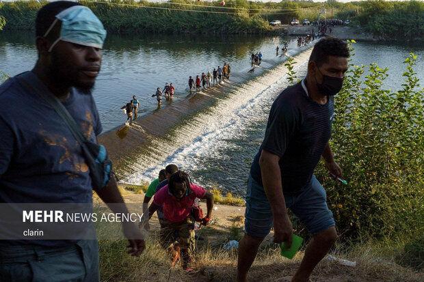بلاتکلیفی پناهجویان در مرز آمریکا