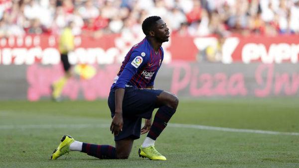ستاره بارسلونا دیدار با لیون را از دست داد؟