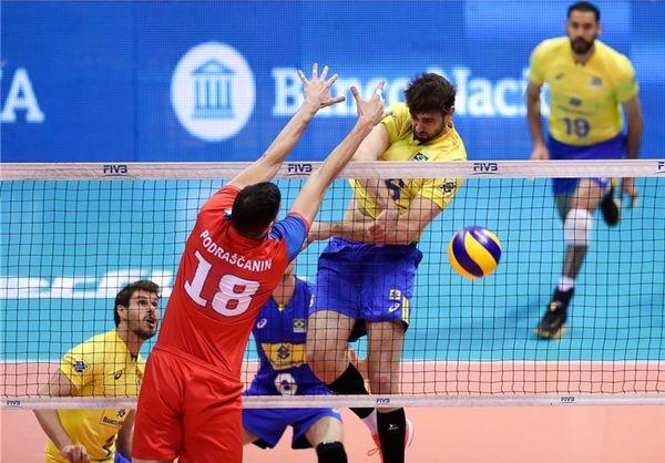 روسها قهرمان لیگ ملتهای والیبال شدند