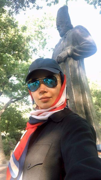 پیاده روی های صبحگاهی شبنم قلی خانی + عکس