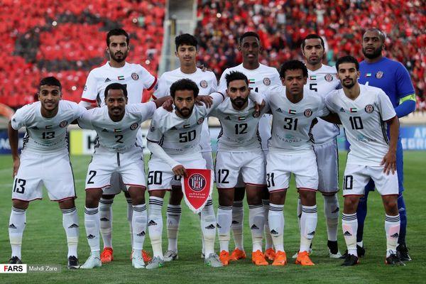 بازیکنان الجزیره وقت کشی کردند