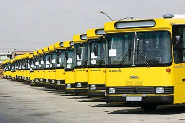خدمت رسانی شرکت واحد اتوبوسرانی تهران در مراسم۱۳آبان