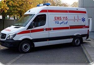 تردد برخی از مسئولان با آمبولانس