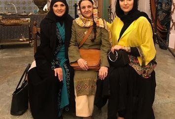 بازیگر از یادها رفته در جشن حافظ+عکس