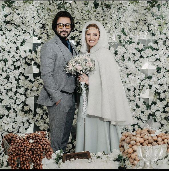 جشن عروسی نگین معتضدی + عکس