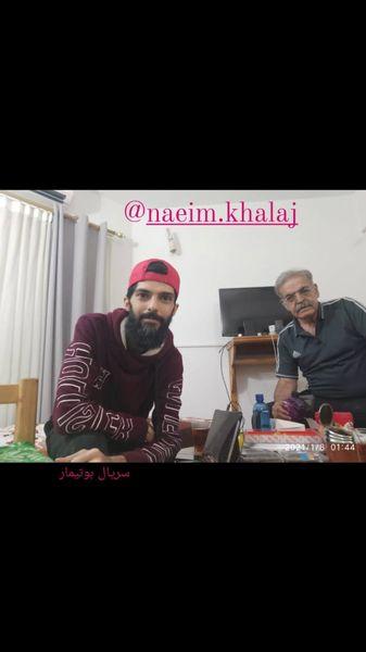 حمید لولایی و دوست جوانش + عکس