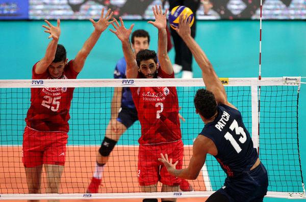 برنامه والیبال ایران در لیگ ملتها مشخص شد