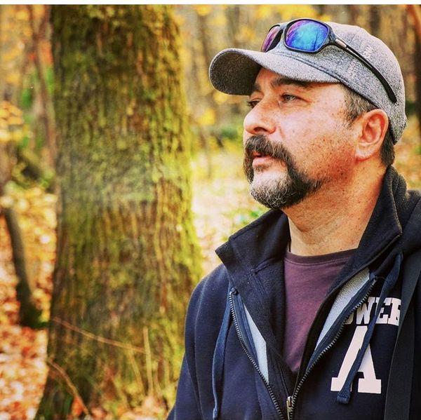 امیرحسین صدیق در جنگل + عکس