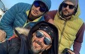 امین حیایی و حامد کمیلی در پیست اسکی + عکس