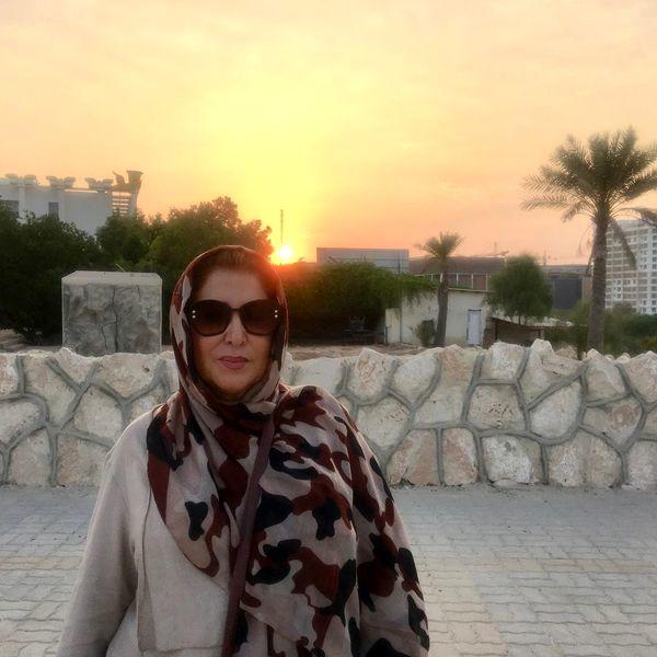 ژیلا امیرشاهی در غر.ب دل انگیز بهاری + عکس