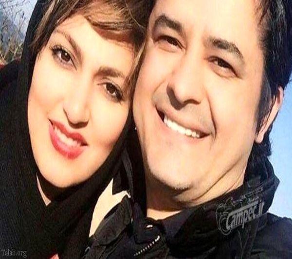 عکس عاشقانه مجری هوش برتر و همسرش