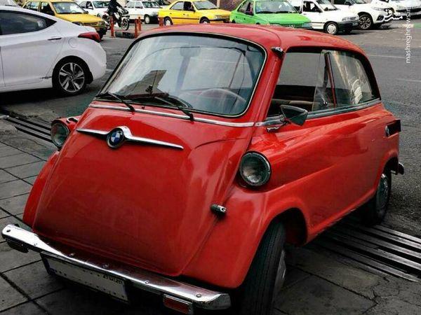عکس/ کوچکترین خودروی ایران