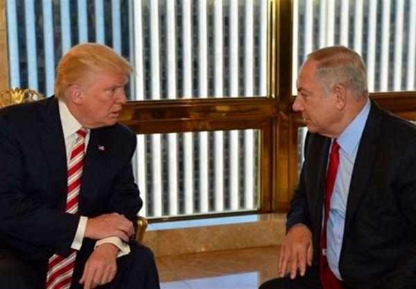 گفتگوی تلفنی نتانیاهو با ترامپ درباره مقابله با ایران در سوریه