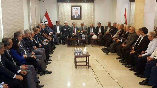 احزاب لبنان با ملت و دولت سوریه اعلام همبستگی کردند
