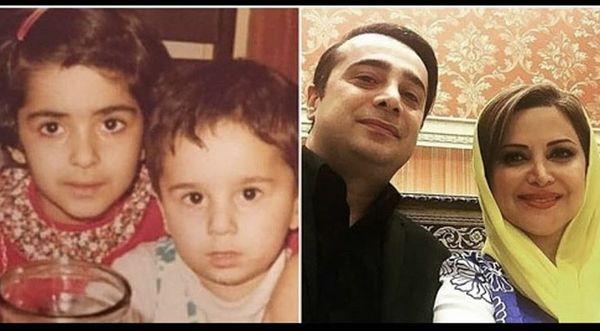 کمند امیرسلیمانی و برادرش در گذر زمان + عکس