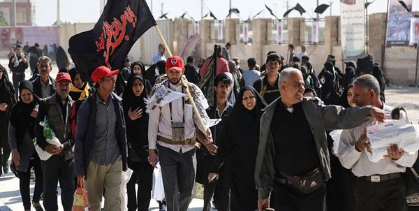 حضور یک میلیون و ۲۵۰ هزار زائر ایرانی در عراق